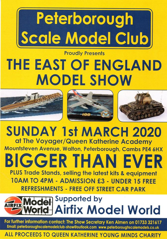 Peterborough Scale Model Club show 2020